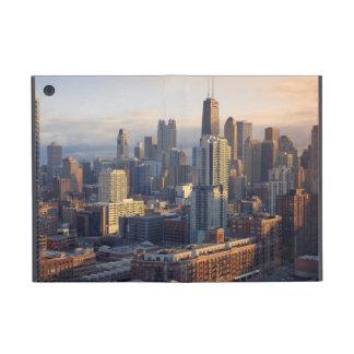 素晴らしいライトとの都市景観の眺め iPad MINI ケース