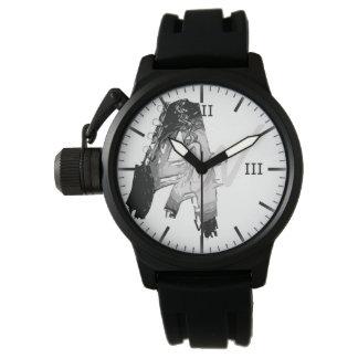 素晴らしい作家の腕時計[カスタムな保護装置] 腕時計