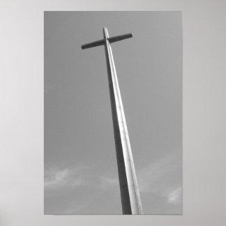 素晴らしい十字のセントオーガスティンフロリダ ポスター