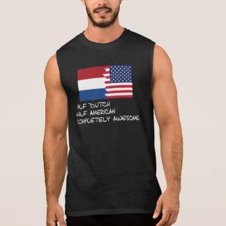 素晴らしい半分のオランダ完全に 袖なしシャツ