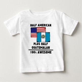 素晴らしい半分グアテマラの100%年 ベビーTシャツ