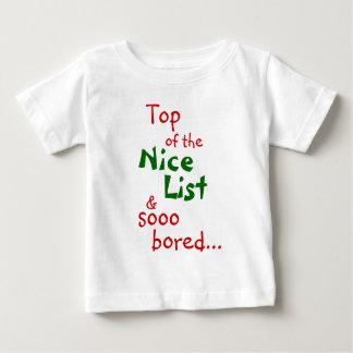 素晴らしい及び退屈させる、乳児 ベビーTシャツ