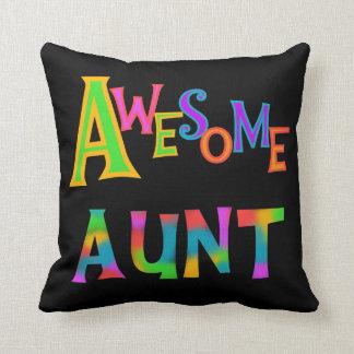 素晴らしい叔母さんT-shirtsおよびギフト クッション