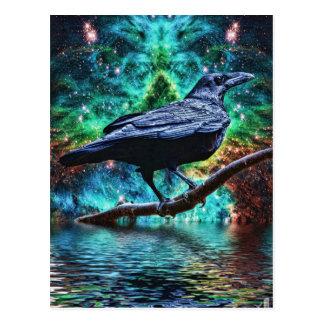 素晴らしい夜ワタリガラス ポストカード