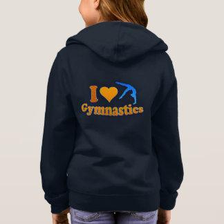 素晴らしい女の子の体操のワイシャツおよびスエットシャツ スウェットシャツ