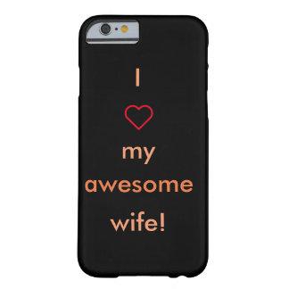 素晴らしい妻のiPhoneの場合 Barely There iPhone 6 ケース