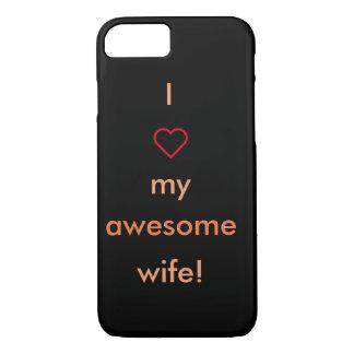 素晴らしい妻のiPhoneの場合 iPhone 8/7ケース