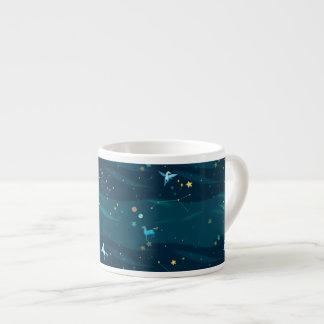 素晴らしい宇宙エスプレッソのマグ エスプレッソカップ