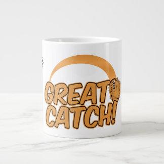 素晴らしい捕獲物! カスタムなマグ ジャンボコーヒーマグカップ