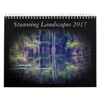 素晴らしい景色のカレンダー2017年 カレンダー