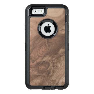 素晴らしい木製の穀物 オッターボックスディフェンダーiPhoneケース
