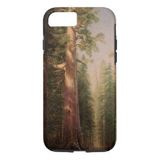 素晴らしい木、Mariposa果樹園、Bierstadt著カリフォルニア iPhone 8/7ケース