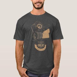 素晴らしい構成の写真撮影 Tシャツ