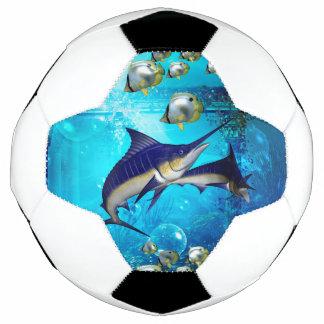 素晴らしい水中世界 サッカーボール