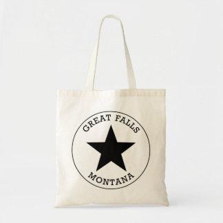 素晴らしい滝モンタナ トートバッグ