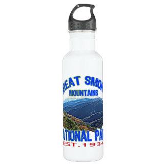 素晴らしい煙山の国立公園 ウォーターボトル