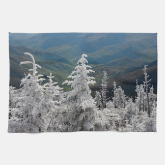素晴らしい煙山の国立公園 キッチンタオル