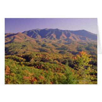 素晴らしい煙山NP、テネシー州、米国 カード