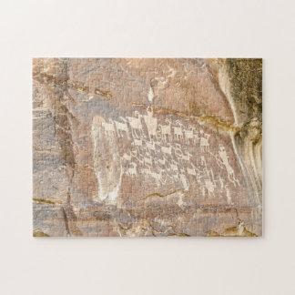 素晴らしい狩りのパネル-石の芸術 ジグソーパズル