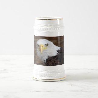 素晴らしい白頭鷲 ビールジョッキ