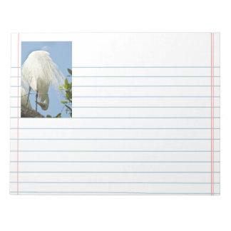 素晴らしい白鷲は底を付けます ノートパッド