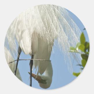素晴らしい白鷲は底を付けます ラウンドシール