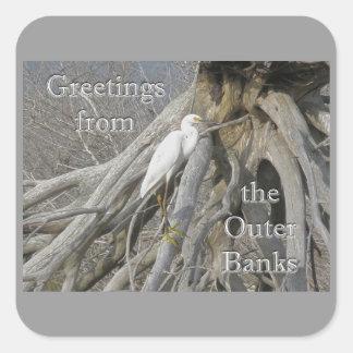 素晴らしい白鷺(アルバArdea) OBX外銀行 スクエアシール