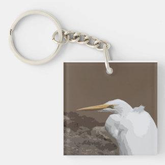 素晴らしい白鷺 キーホルダー