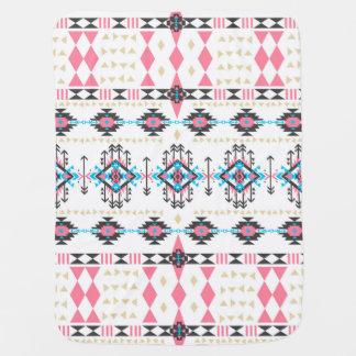 素晴らしい種族の民族のナバホー人の幾何学的なパターン ベビー ブランケット