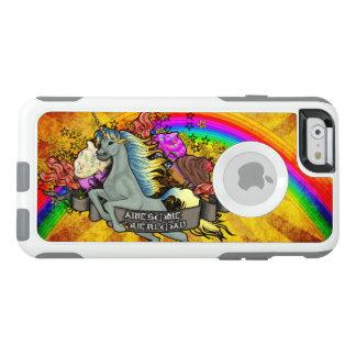 素晴らしい積み過ぎのユニコーン、虹及びベーコン オッターボックスiPhone 6/6Sケース