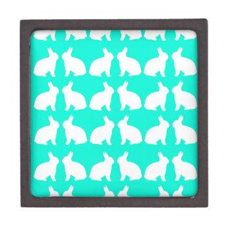 素晴らしい緑のウサギのデザイン ギフトボックス