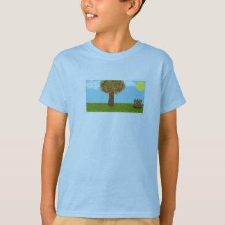 素晴らしい背景 Tシャツ