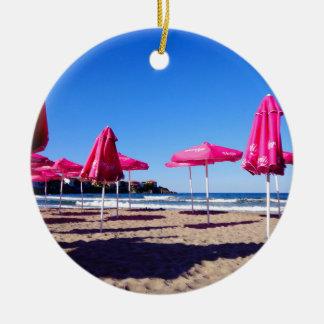 素晴らしい脱出: Sozopolのビーチ セラミックオーナメント