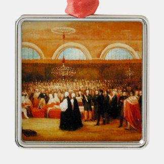素晴らしい解放の行為、c.1829の渡ること メタルオーナメント