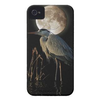 素晴らしい青の鷲及び月のファンタジーの電話箱 Case-Mate iPhone 4 ケース