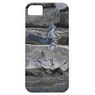 素晴らしい青鷲の野性生物のBirdloverの上陸の写真 iPhone SE/5/5s ケース