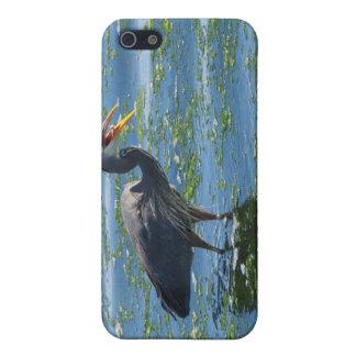 素晴らしい青鷲の魚釣りの荒野の芸術 iPhone 5 ケース