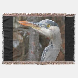 素晴らしい青鷲の鳥の野性生物のブランケット 毛布