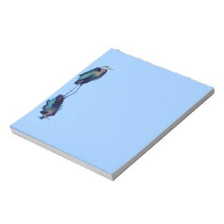 素晴らしい青鷲のBirdloverの野性生物のデザイン ノートパッド