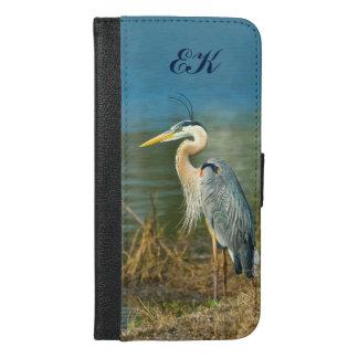 素晴らしい青鷲、モノグラム iPhone 6/6S PLUS ウォレットケース