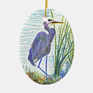 素晴らしい青鷲-水彩画の鉛筆 セラミックオーナメント