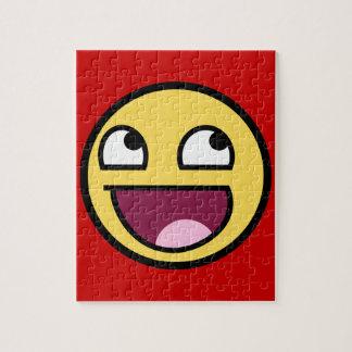 素晴らしい顔のパズル ジグソーパズル