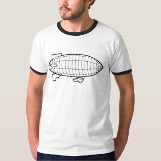 素晴らしい飛行船 Tシャツ