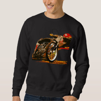 素晴らしい高速自動車道路のオートバイの衣類 スウェットシャツ