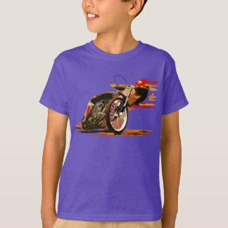 素晴らしい高速自動車道路のオートバイの衣類 Tシャツ