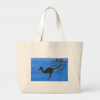 素晴らしい鳥 ラージトートバッグ