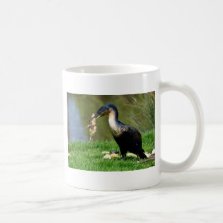 素晴らしい鵜の食べ物のひよこ コーヒーマグカップ