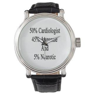 素晴らしい50の心臓学医45および5神経症患者 腕時計
