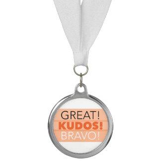 素晴らしい! 栄光! Bravo! 円形浮彫り賞、銀 メダル