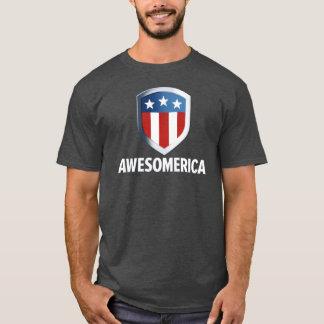 素晴らしい。 「merica。 Awesomerica Tシャツ